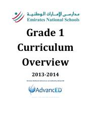 G1-Curriculum-Overview