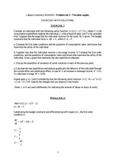 PS2 - Exercises with Solutions (1)