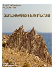 Lect#14.Crustal Deformation & Geological Structures.pdf