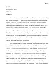 contact zone essay