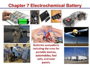 Chapter 7-Electrochemical Battery