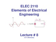 ELEC2110-Lecture _8-class-Wednesday 2-2-11