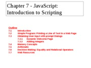 3Chp7) Javascript - Introduction