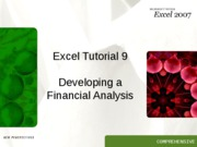 Excel 9 tutorial
