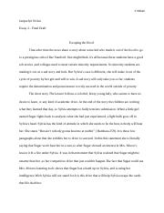 Escaping the hood essay
