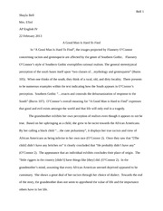 English Literature Essays A Good Man Is Hard To Find Essay  Bell  Shayla Bell Mrs Efird Ap English  Iv  February  A Good Man Is Hard To Find In A Good Man  Advanced English Essays also English Essays For Kids A Good Man Is Hard To Find Essay  Bell  Shayla Bell Mrs Efird Ap  Analysis Essay Thesis