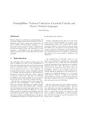 Technical Unification of Lambda Calculus and.pdf