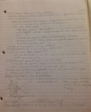 Econ 114 Notes- market power and pricing strategy
