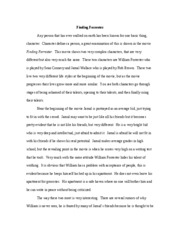 education movie critique finding forrester katie comerford  3 pages 1 15 06 finding forrester rough draft