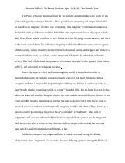 place of stunted ironwood trees essay