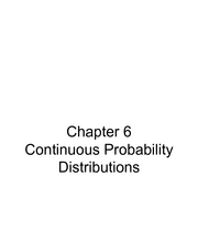 Chapter6_ContinuousProbabilityDistributions