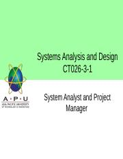 Week 02-System Analyst and Project Manager.pptx