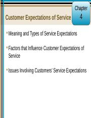 Customer Expectations of Service.ppt