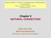 Chapter 9 - Natural Convection