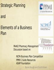 Business Plan lecture fall 2014(1)