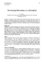 Informatics essay