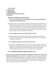 Learning Objective Questions- Exam #1