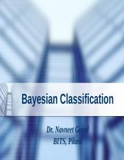 Bayesian Classification NG