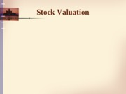 stock valuation - handout