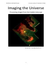 Imaging the Universe v3