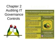 Chap02 Lesson2 Auditing IT Governance Controls