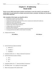 Chapter 8 - Study Guide - Student.docx
