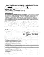 Team 7 Project Peer Evaluation Form (Vishesh Thakur).docx
