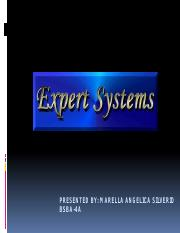 EXPERT SYSTEM PPT