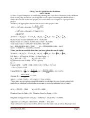 Cost of Capital_Ch14_Practice Problems_Solution.doc