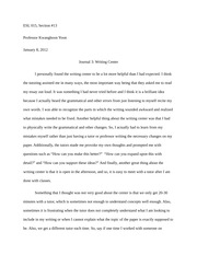 critique essay on social media esl section professor  2 pages journal 3