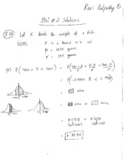 STAT 53 - HW 2 Solutions