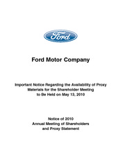 FORD 2010_proxy