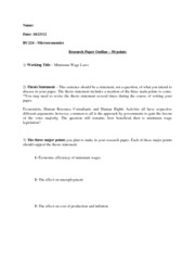10 page research paper outline template