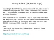 Robot 4 Toy & Hobby