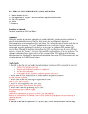 Lecture 15 GNG study guide