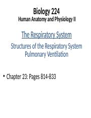 Lecture 10 - Respiratory System 1.pptx