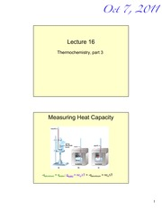 Lecture 16 - Thermochemistry Part 3