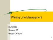 311_session_13_waiting_line_management_hiroshi