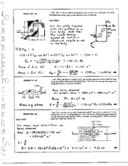 47_Mechanics Homework Mechanics of Materials Solution