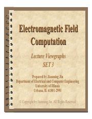 ECE 540 : Computational Electromagnetics - UIUC - Course Hero