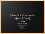 Electronic Communication Networks group 8
