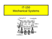 Mechanical Systems-IV