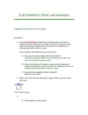 3.00 Newton's First Law.docx