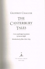 Chaucer - Friars Tale