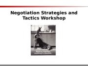 Negotiation Techniques Basics