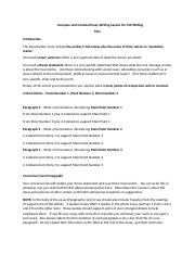 Compare and Contrast Essay Writing Layout for 150 Writing.docx