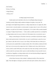 sexual assault on campus my view.docx