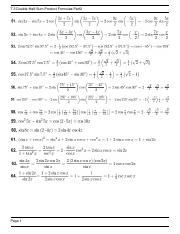 7.3 Double-Half-Sum-Product Formulas Part2