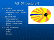 AS101 Lecture 9