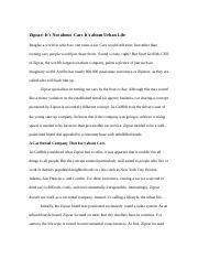Case Study   ZipCar   ddoe Course Hero